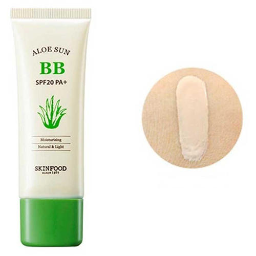 Крем ББ с экстрактом алоэ Aloe Sun BB Cream #2, 50 г